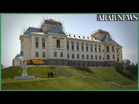 Afghan palace emerges from ruins as centenary nears