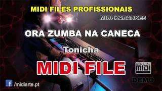 ♬ Midi file  - ORA ZUMBA NA CANECA - Tonicha