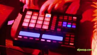 """Native Instruments Maschine Noisia Live remix by N Sifantus of """"Split the Atom/Diplodocus"""""""