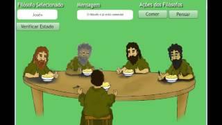 Problema o Jantar dos Filósofos | Dining philosophers Problem | Concorrência | Sincornização