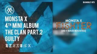 [3D+BASS BOOSTED] MONSTA X (몬스타엑스) - FIGHTER | bumble.bts