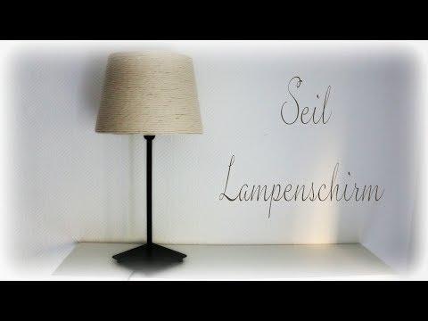 Seil Lampenschirm * DIY * Rope Lampshade