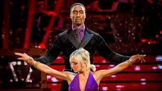 Simon Webbe & Kristina Argentine Tango to 'El Tango De Roxanne'- Strictly Come Dancing: 2014 - BBC