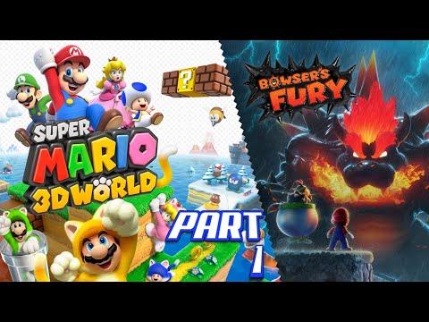 Super MARIO 3D World + Bowsers Fury Das Fröhliche Sterben ist zurück Part 1