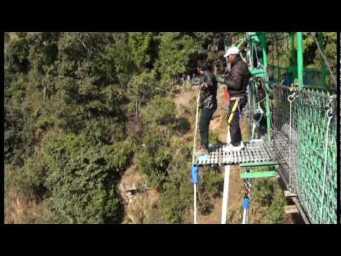 Aman Poudel Bungee Jumps into Bhote Koshi gorge, Nepal(Jan, 2012).vob