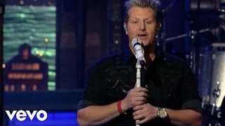 Rascal Flatts - What Hurts The Most (Live on Letterman)