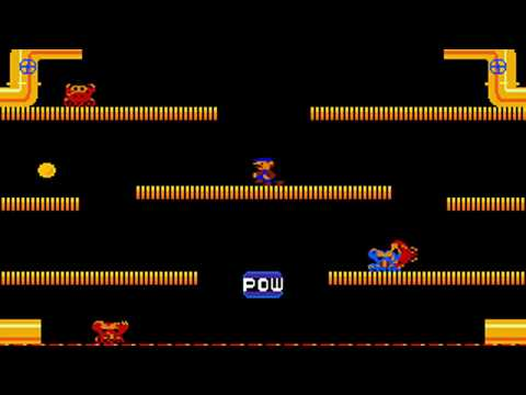 Mario Bros VGA (a.k.a. Mario Brothers VGA) (Dave Sharpless) (MS-DOS) [1990]