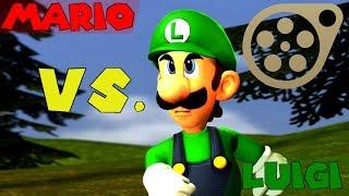Mario Vs. Luigi [Mario SFM]