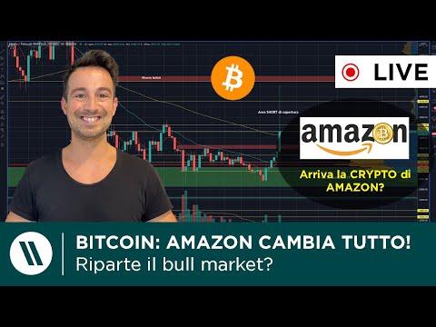 BITCOIN: QUESTO CAMBIA TUTTO! | AMAZON accetta BITCOIN e lancia la SUA CRYPTO!