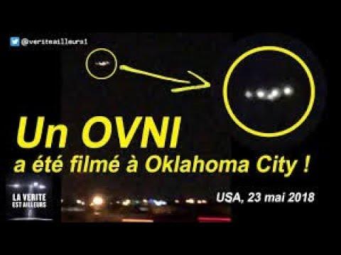 nouvel ordre mondial | Un OVNI a ete filmé à Oklahoma City - mai 2018