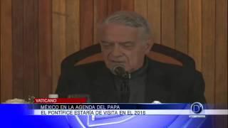 Papa Francisco tiene planes de ir a México en 2016
