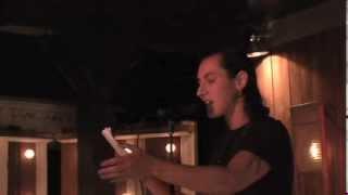"""Corrina Bain, """"Pantoum for Jasmine Fiore"""" at the Lit Slam, September 2013"""