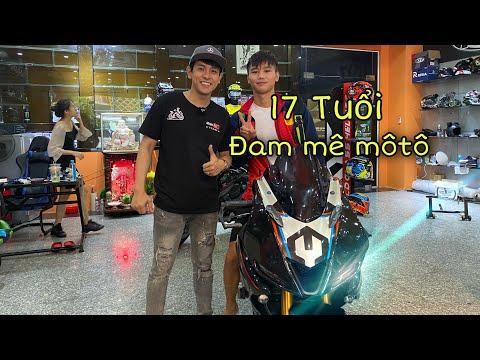 Yamaha R15 Độ R6 – Mới 17 Tuổi Đã Đi Mua Xe Moto | MinhBiker