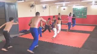 1• Aula de Capoeira com Professor Alan Ricardo