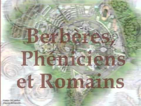 Histoire d'Algerie Prehistoire + BERBERES, PHENICIENS ET ROMAINS – Parties 1 et 2
