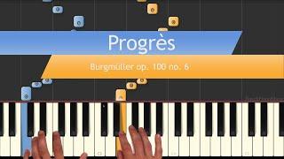 Progrès - Burgmüller op.100 no. 6