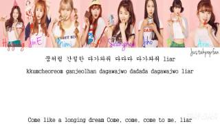 OH MY GIRL (오마이걸) - LIAR LIAR Han|Rom|Eng Color Coded Lyrics