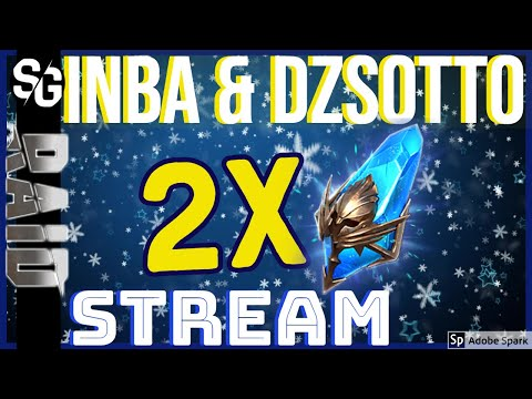 RAID SHADOW LEGENDS | 2x SUMMONS STREAM HIGHLIGHT INBA & DZSOTTO