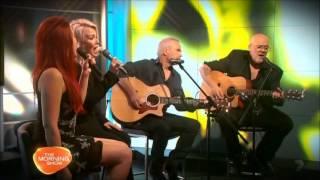 Kim Wilde - Kids In America (acoustic; Morning Show Australia Oct 2013)