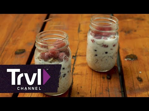 3 Mason Jar Camping Meals - Travel Channel