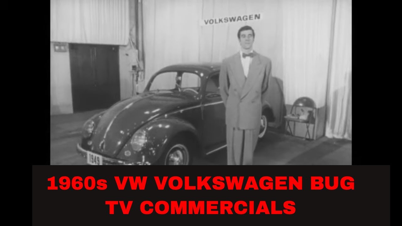 Vintage VW Volkswagen TV Commercials - VW Bug Beetle
