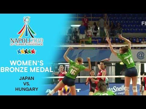 RUSSIA vs. ITALY | Women's Bronze Medal | FISU Summer Universiade - Napoli 2019