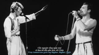[Vietsub + Lyrics] Queen & David Bowie - Under Pressure