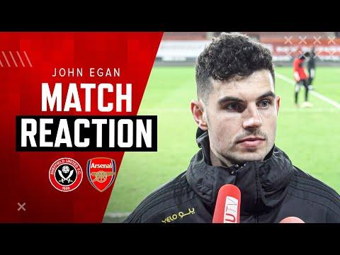 John Egan   Match Reaction Interview   Sheffield United 0-3 Arsenal