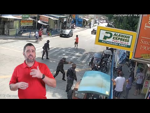 Mentally Challenged Quarantine Violator Shot Down In The Philippines