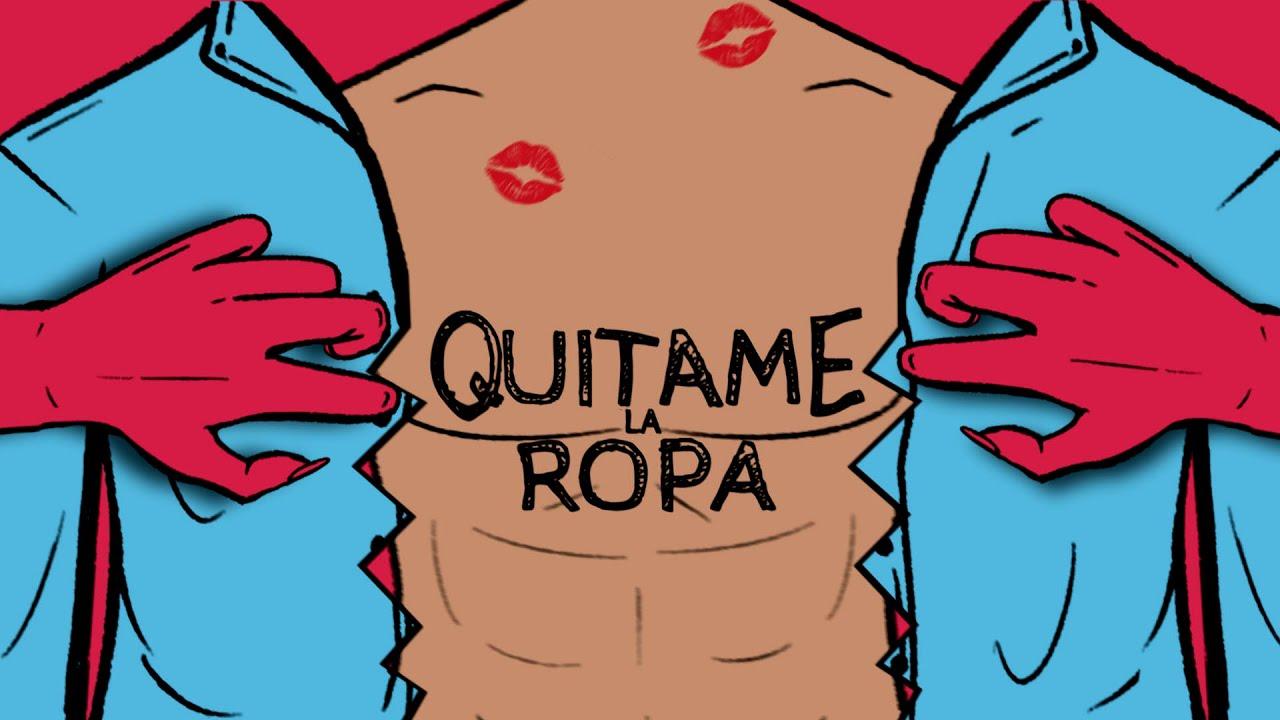 Quítame La Ropa (Videolyric) - Kaden