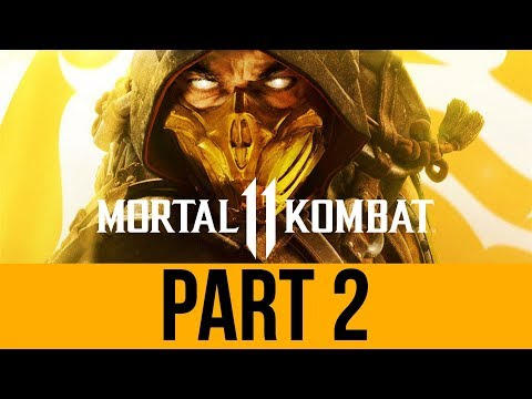 MORTAL KOMBAT 11 STORY Gameplay Walkthrough Part 2 - Chapter 3 & 4 (Full Game) MK11