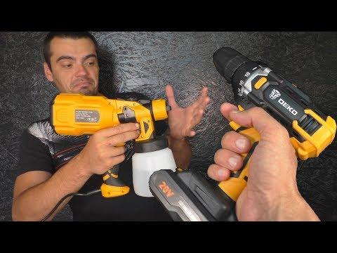 Два инструмента для стройки от DEKO photo