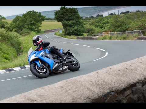 Isle of Man TT Course on the Suzuki GSX-S1000F