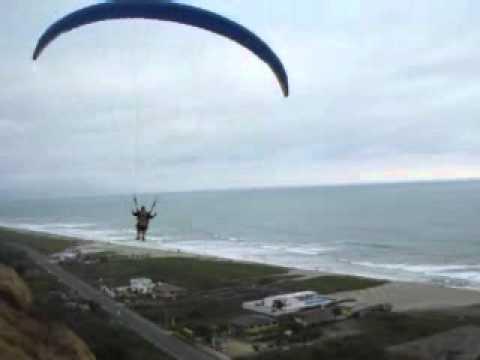 Paragliding in Canoa, Ecuador!