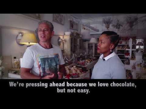 #AfricaConnected - Nikiwe visits la Maison du Chocolat in Abidjan