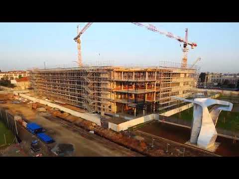 Time-lapse: nasce il nuovo quartier generale di Siemens Italia