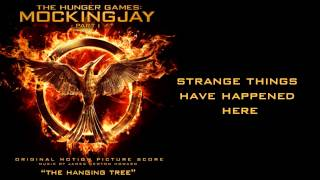 'The Hanging Tree' with lyrics performed by Jennifer Lawrence, The Hunger Games: Mockingjay Part 1