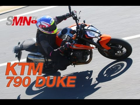 Prueba KTM 790 DUKE 2018 [FULLHD]