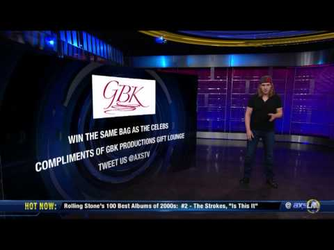 AXS TV - Give Away 2013 GBK & DirecTV Celebrity Beach Bowl Thank You Lounge