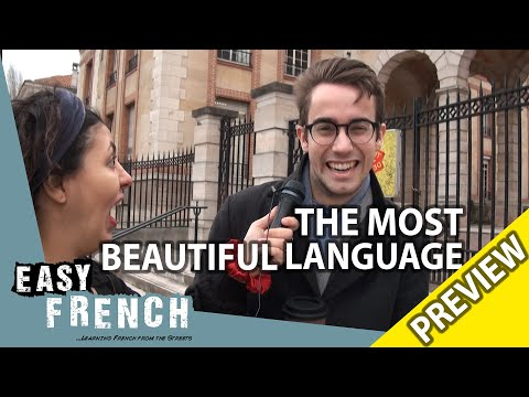 What's the most beautiful language in the world? (Trailer) | Easy French 96 photo