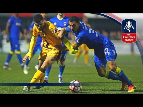Sutton United 0-0 AFC Wimbledon - Emirates FA Cup 2016/17 (R3) | Goals & Highlights