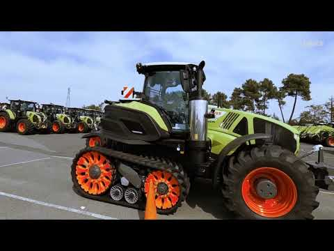 Nedräkning till nyöppning av CLAAS traktorfabrik i Le Mans – video 1/12