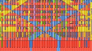 [Black MIDI] Synthesia – Running in the 90s | 170,000 notes ~ Sir Spork