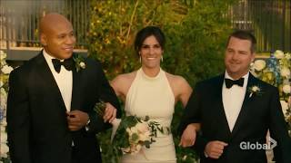 NCIS: Los Angeles 10x17 Densi WEDDING