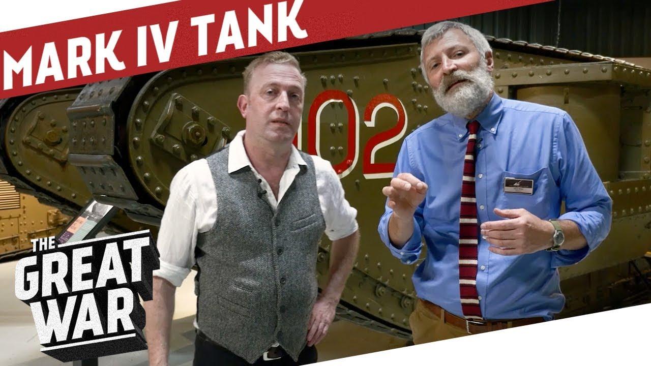 Inside A British Mark IV WW1 Tank