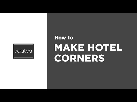How to Make Hotel Corners | Saatva Mattress
