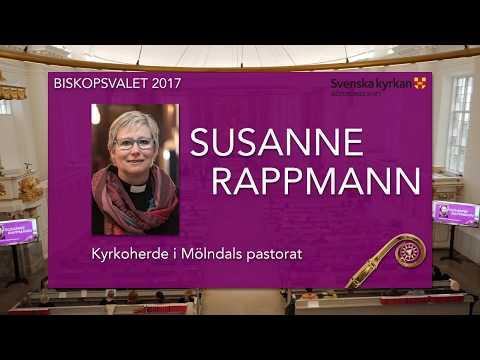 Susanne Rappmann - Biskopsvalet 2017 Göteborgs Stift