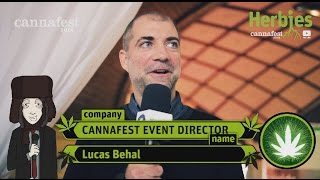 Lucas (Director) @ Cannafest 2014 Prague