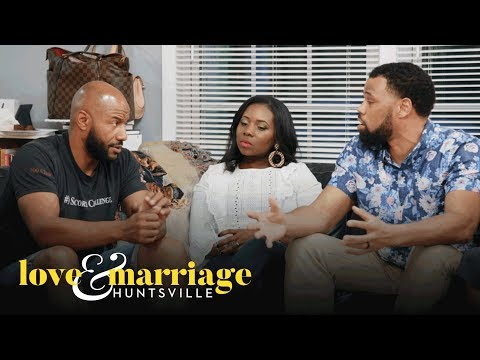 Cedarric Plays Middleman for Martell & Marsau | Love and Marriage: Huntsville | OWN