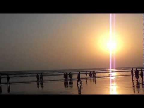 Sunset in Cox's Bazar Sea Beach – Bangladesh